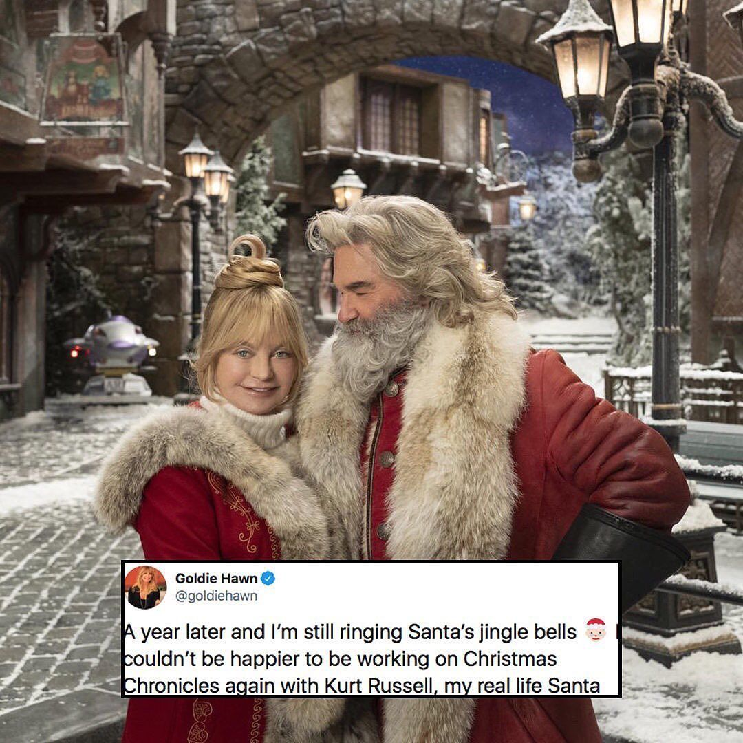 Allnewsinc On Instagram Goldiehawn And Kurtrussell Just Won Christmas Again Link In Bio For Netflix S Early Holiday Movie Christmas Movies Goldie Hawn