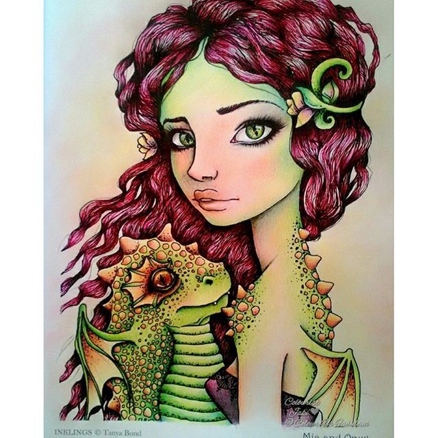 Mia & Onyx from Inklings book by Tanya Bond <a href='/tag/inklings'…