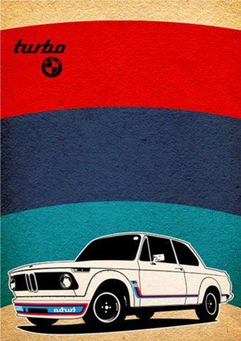 BMW 2002Turbo poster