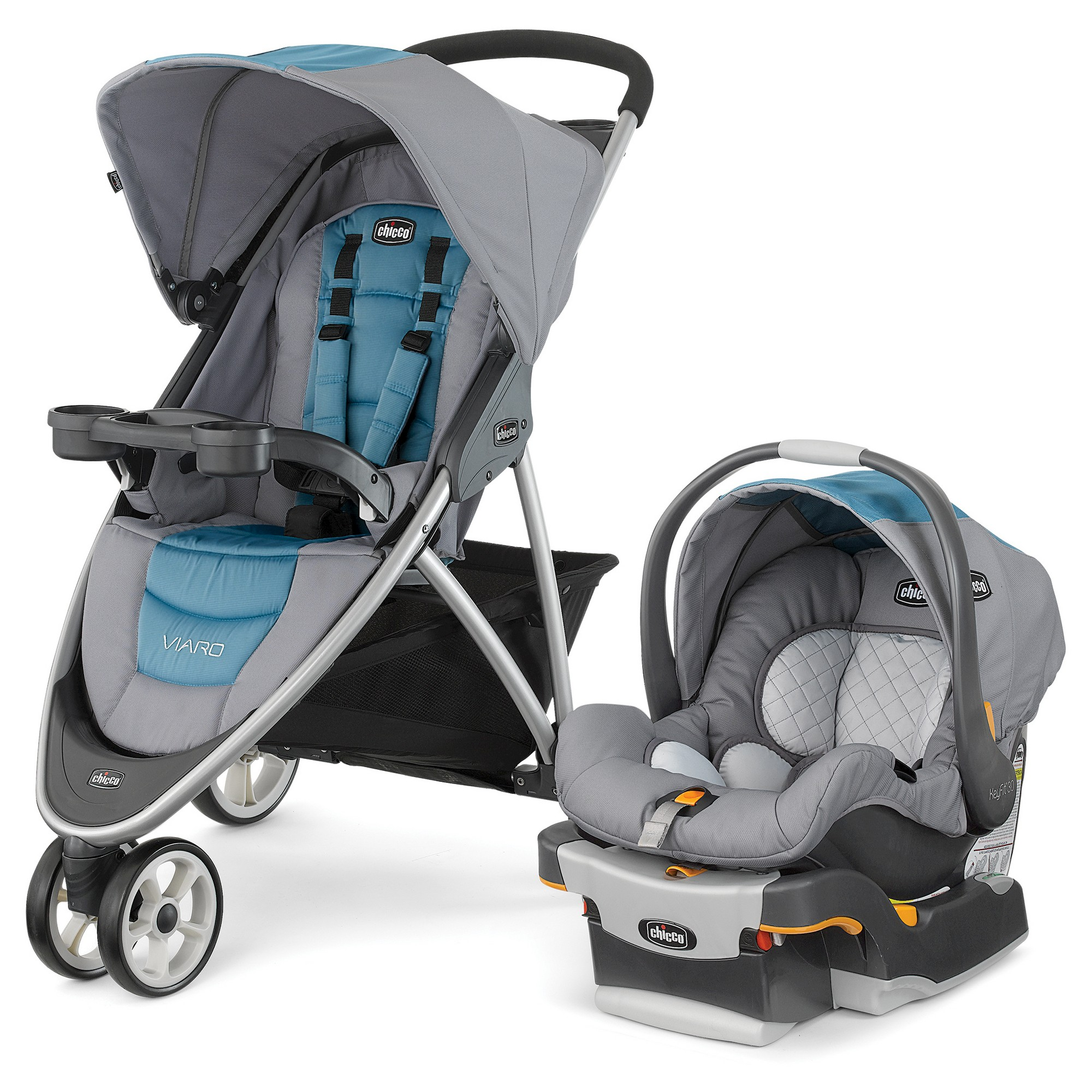 Chicco Viaro Travel System Coastal Baby car seats