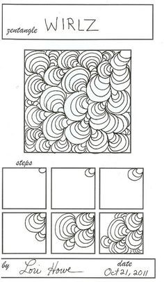 17 Best images about Zentangle - Patterns and How To Steps on ...