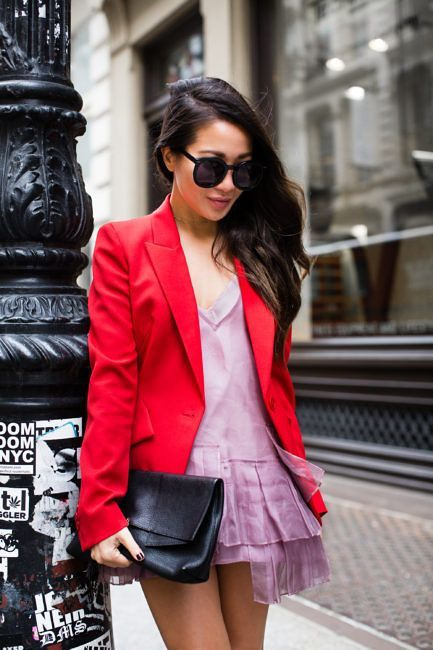 4f0f47370932 Perfect Match :: Red blazer & Pink ruffles (Wendy's Lookbook ...