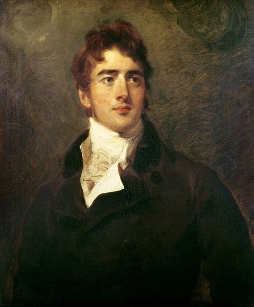 William Lamb, 2nd Viscount Melbourne (1779-1848) (oil on canvas) Wall Art Prints by Sir Thomas Lawrence