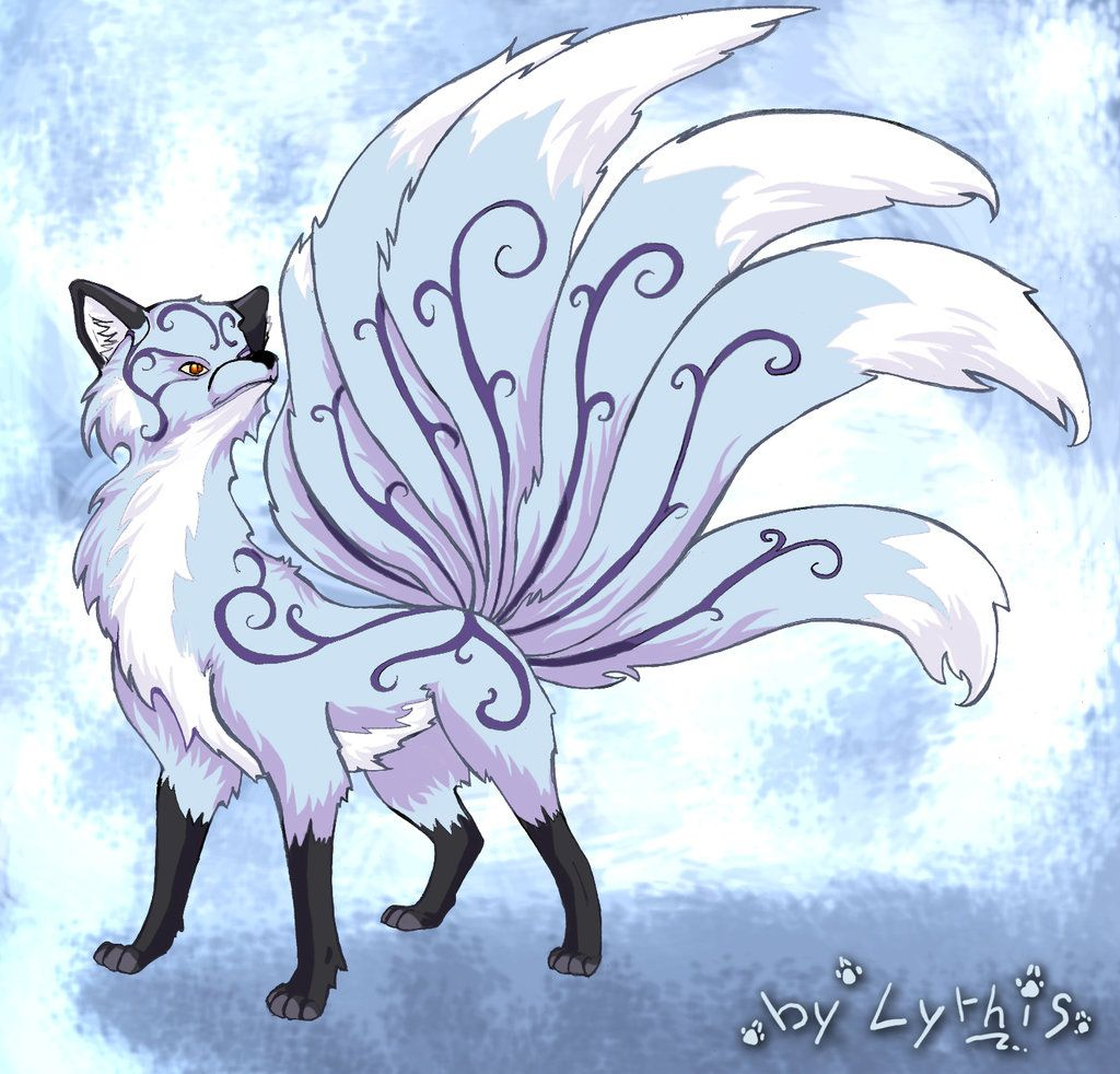 Foxes and Kitsune (demon fox by on