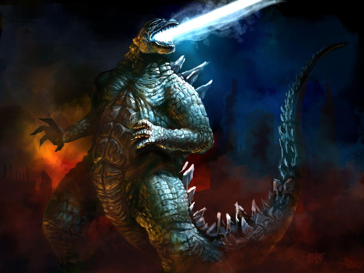 Godzilla 2014 by Grimbro.deviantart.com on @deviantART