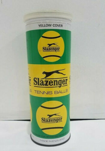 Vintage Slazenger Empty Metal Tennis Ball Can Made in
