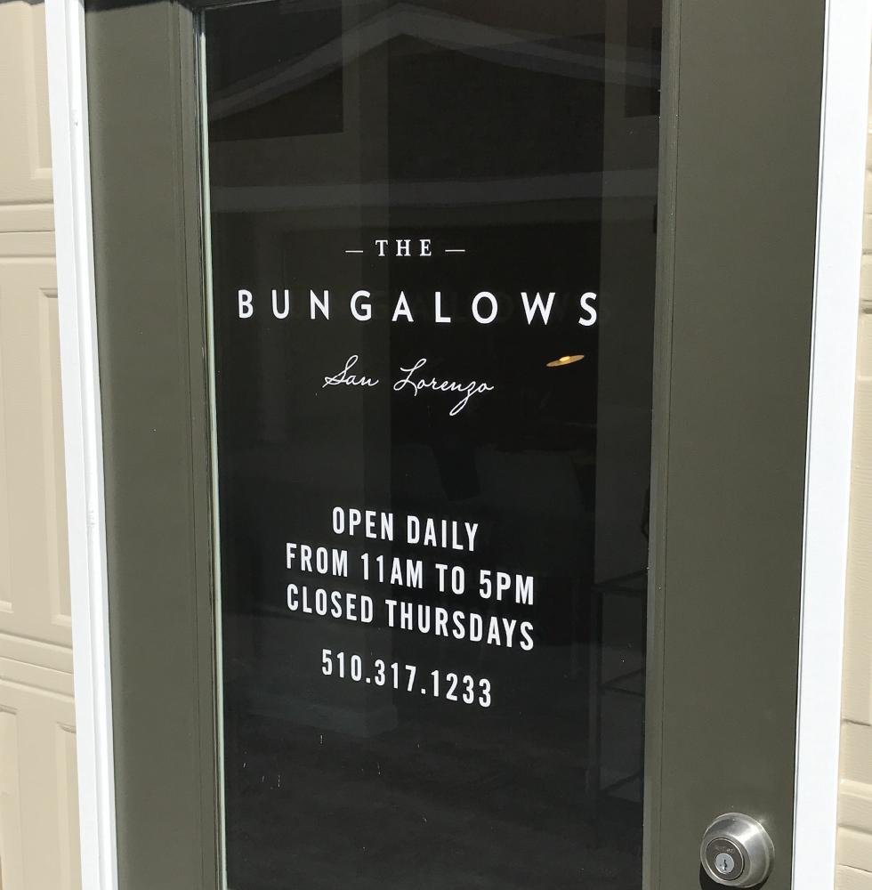 Vinyl Applied Office Hours Glass Door Door Glass Design Store Signage