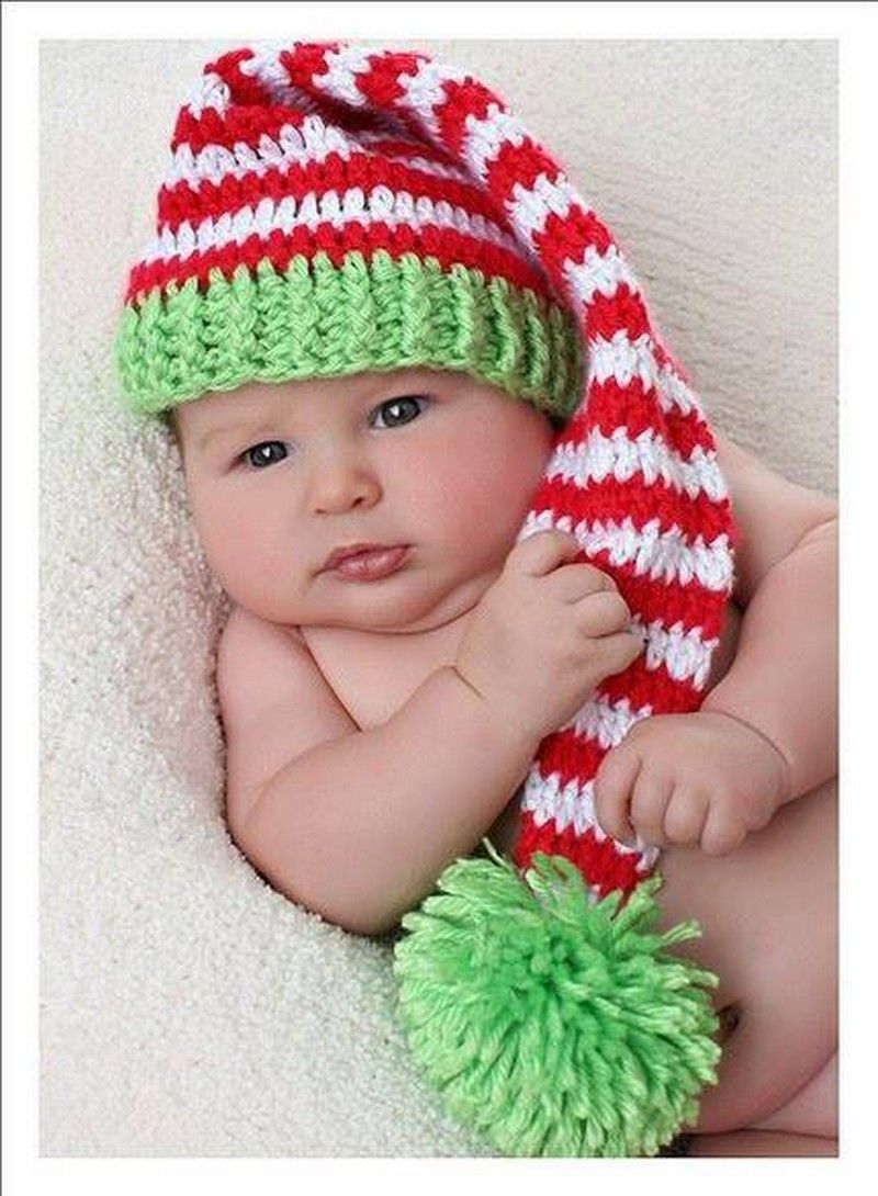 30 shinning crocheted hats caps santa hat babies and crochet 30 shinning crocheted hats caps first babysanta hathat patternsknitting bankloansurffo Images