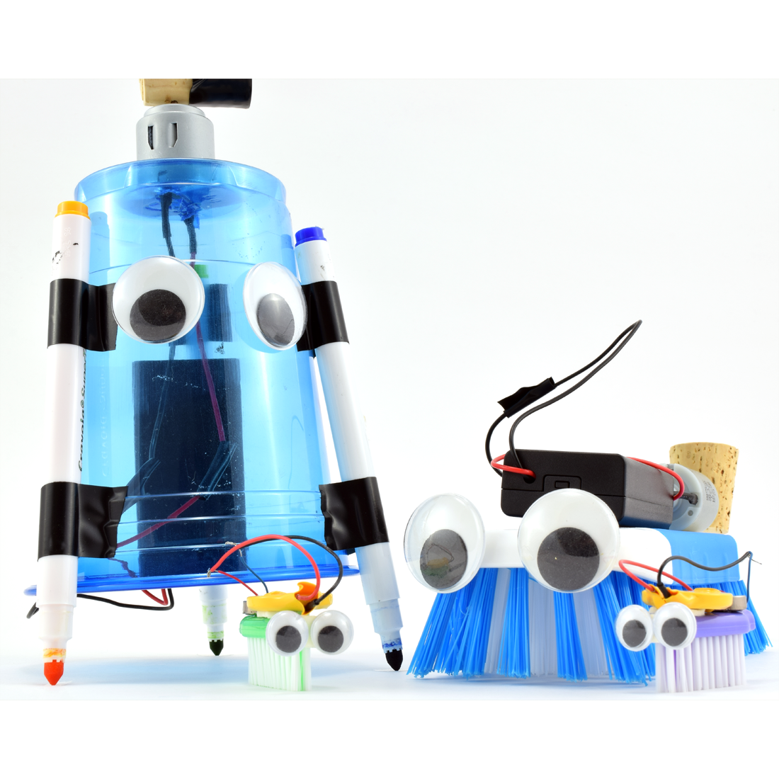 Art Bot Build A Wobbly Robot That Creates Art With