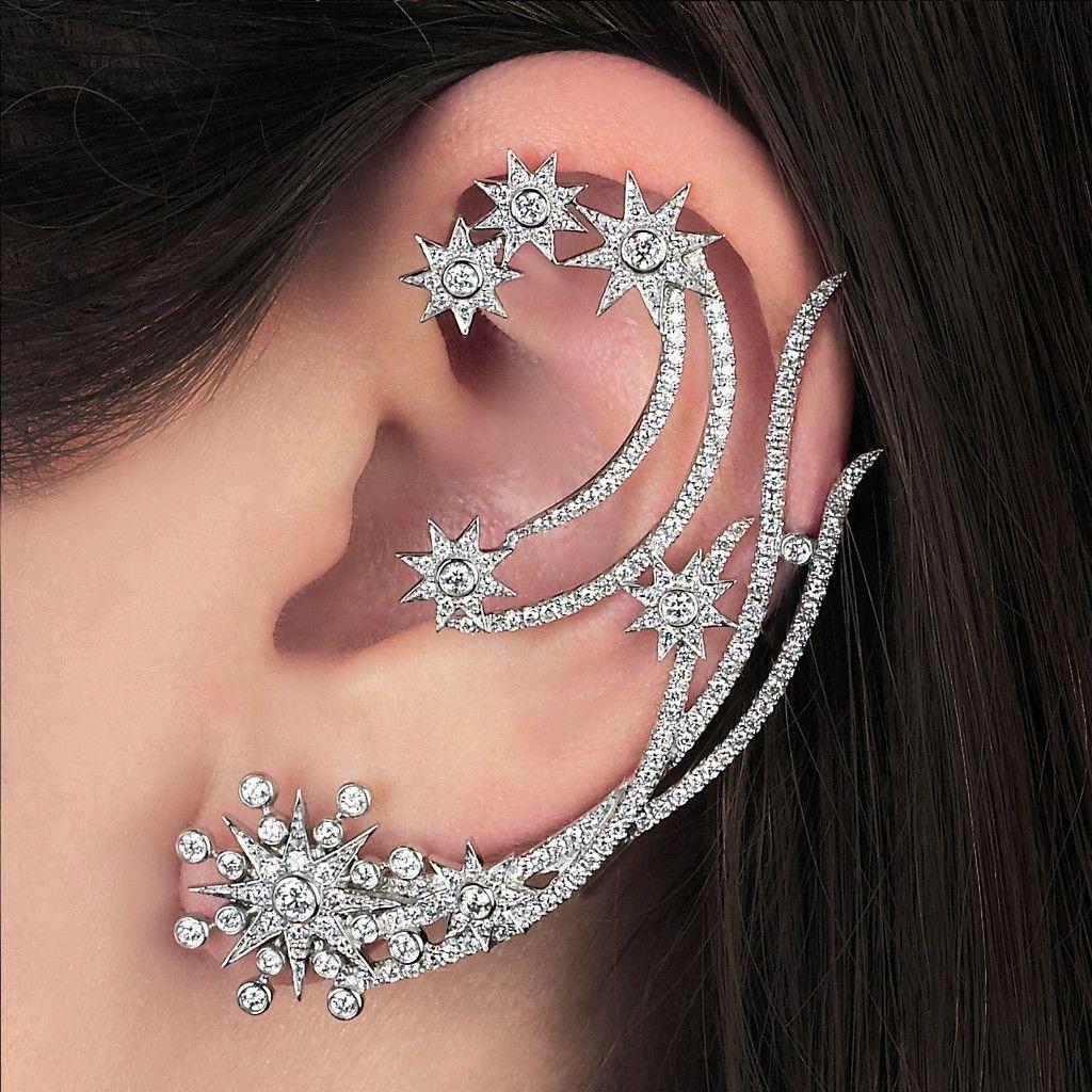 Lacerta Earring Cuff