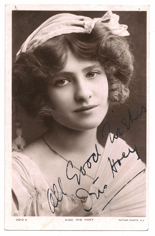 Iris Hoey Actresses Edwardian Era The Past