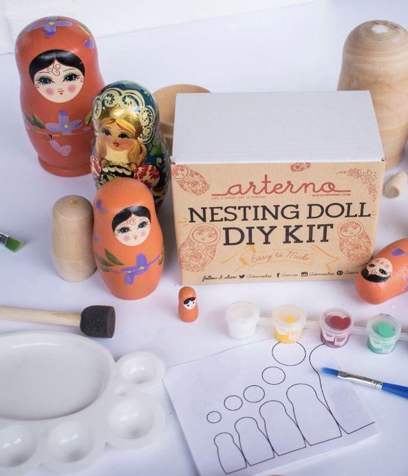 #matryoshka #nestingdolls #dolls #paintingkit #paintbynumber #crafting #craftideas #artsandcrafts #russianart #paintingtutorial