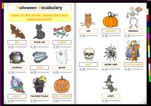 Mañana se celebra en todo el mundo la fiesta de Halloween. Como cada año, pretendemos un acercamiento a nuevos recursos para utilizar en el aula. Es una labor