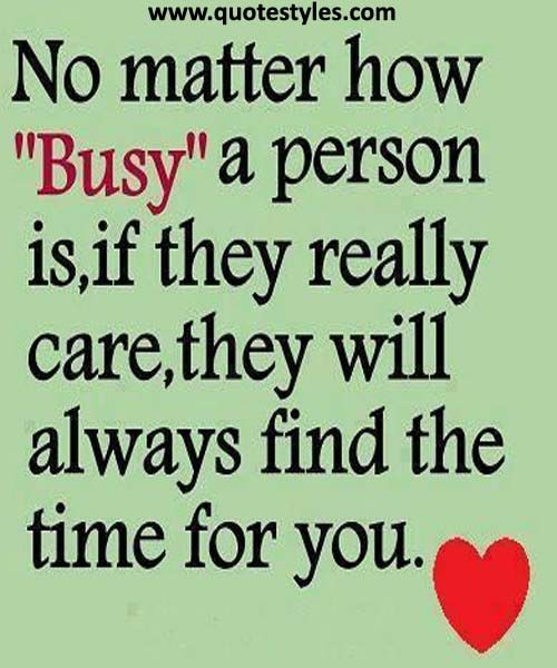 No matter how busy a person  Friendship Quotes | *** Friendship