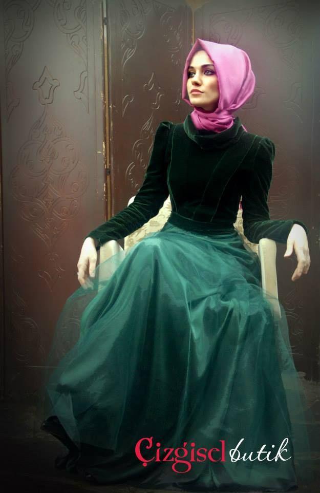 Cizgisel Butik Zarif Tesettur Elbise Modelleri 10 Elbise Modelleri Islami Moda Musluman Modasi