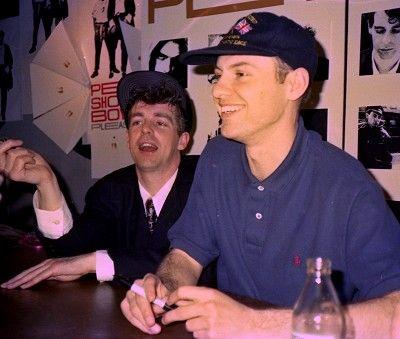 Neil Tennant & Chris Lowe Pet shop boys, Neil tennant