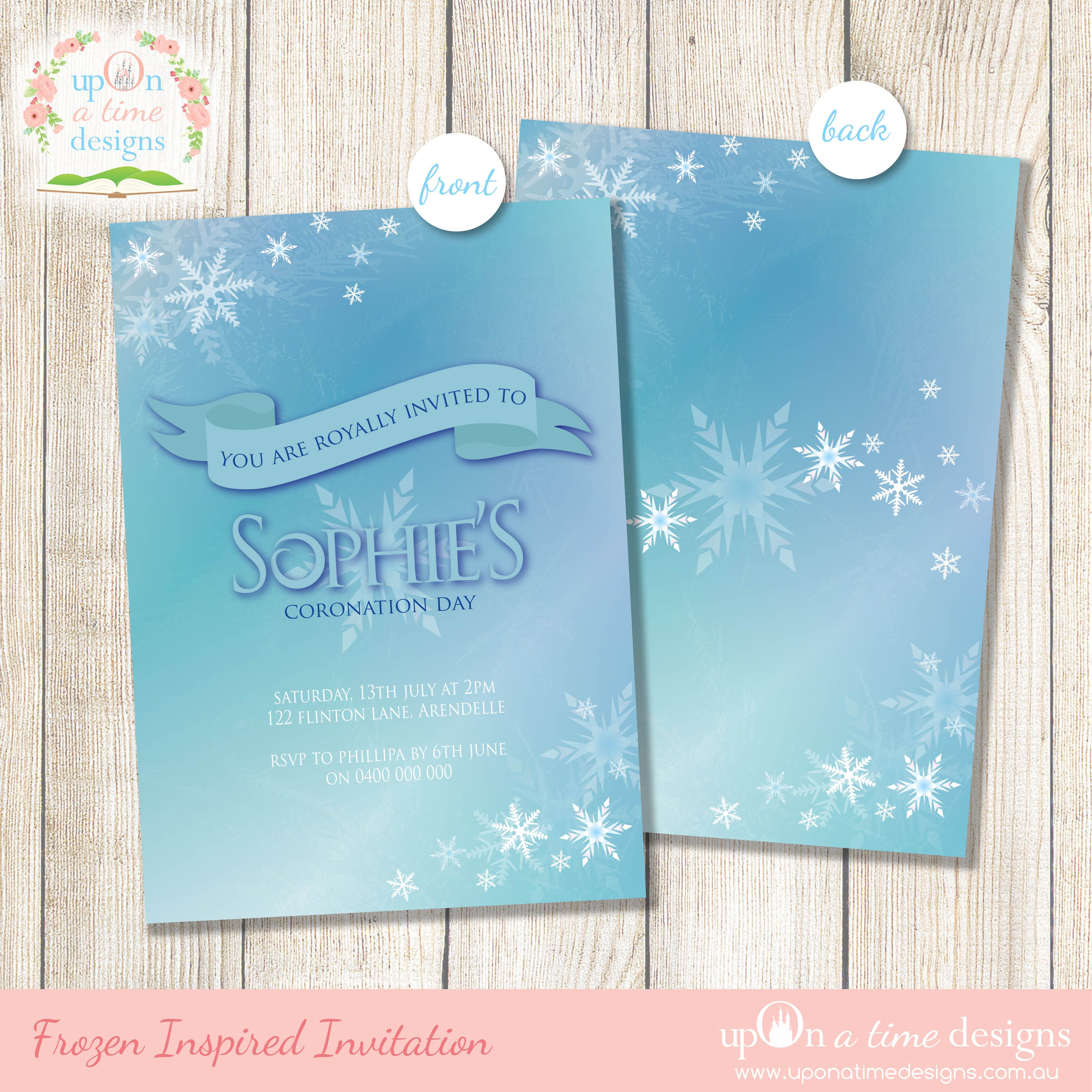 Disney Frozen - Party Supplies Shopping Guide Printables by Upon a ...