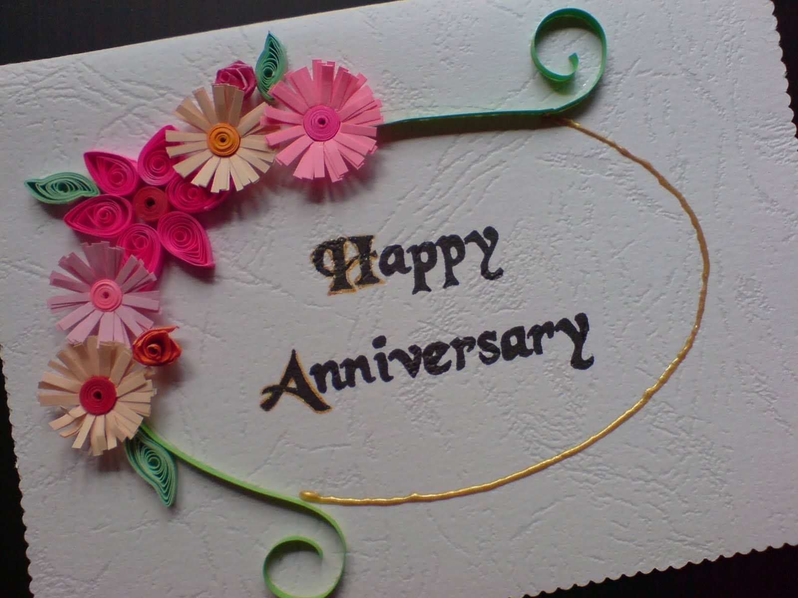 Anniversary Greeting Cards For Your Lover, Parents Or