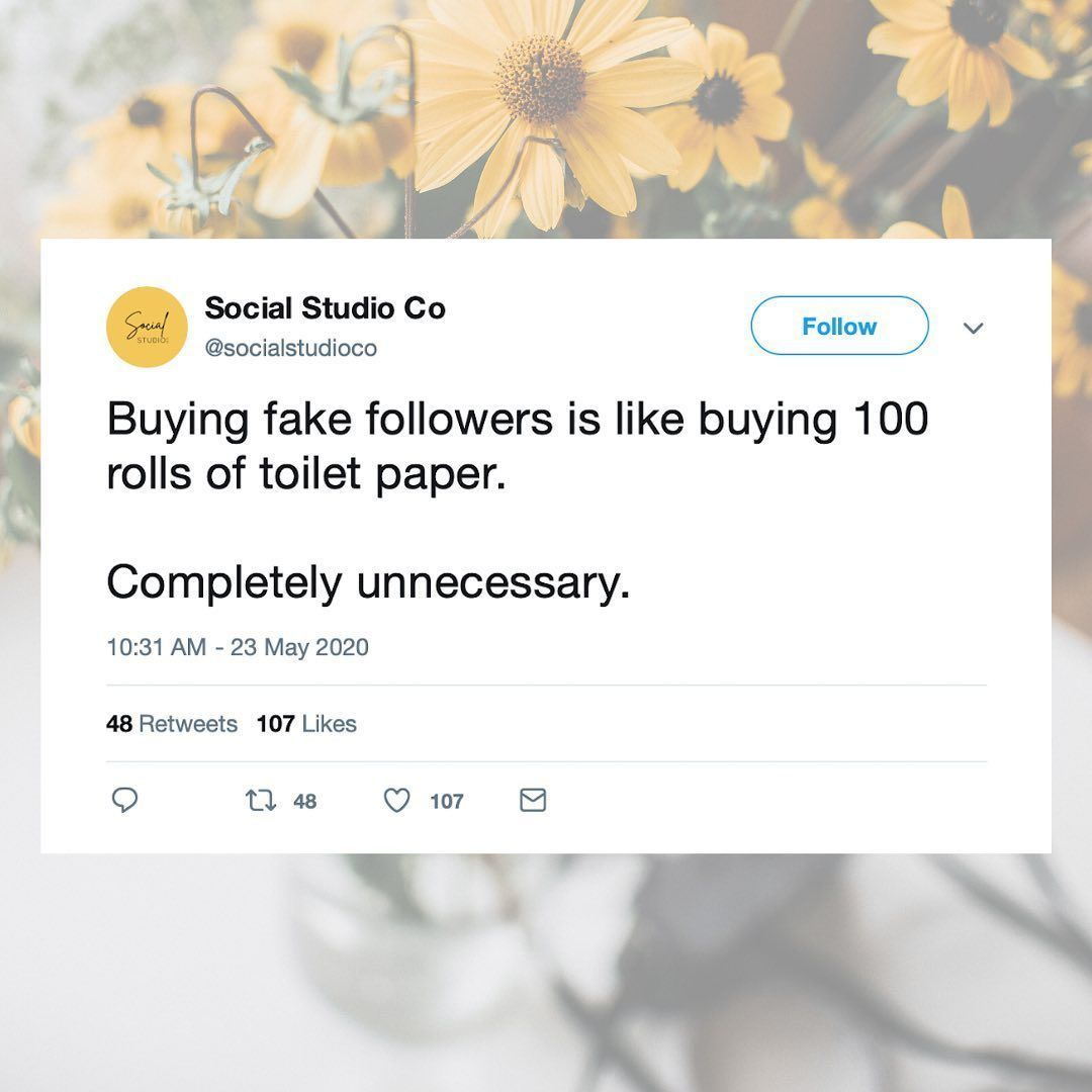 Don T Buy Fake Followers Social Media Gain Instagram Followers Fake Followers