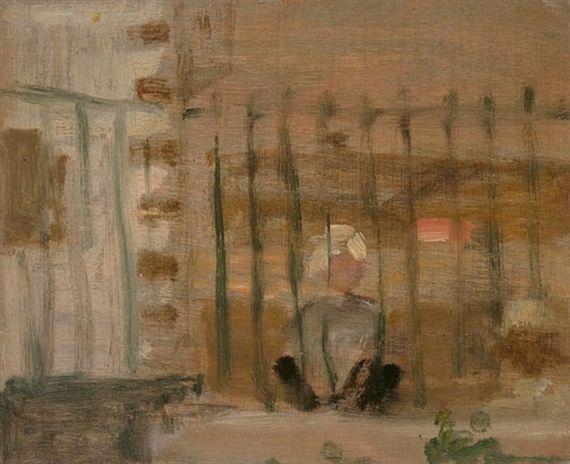 James Wilson Morrice, Through a Garden Fence