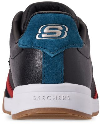 Skechers Women s Zinger - Retro Rockers Casual Sneakers from Finish Line -  BLACK RED 11 29f5940d8f