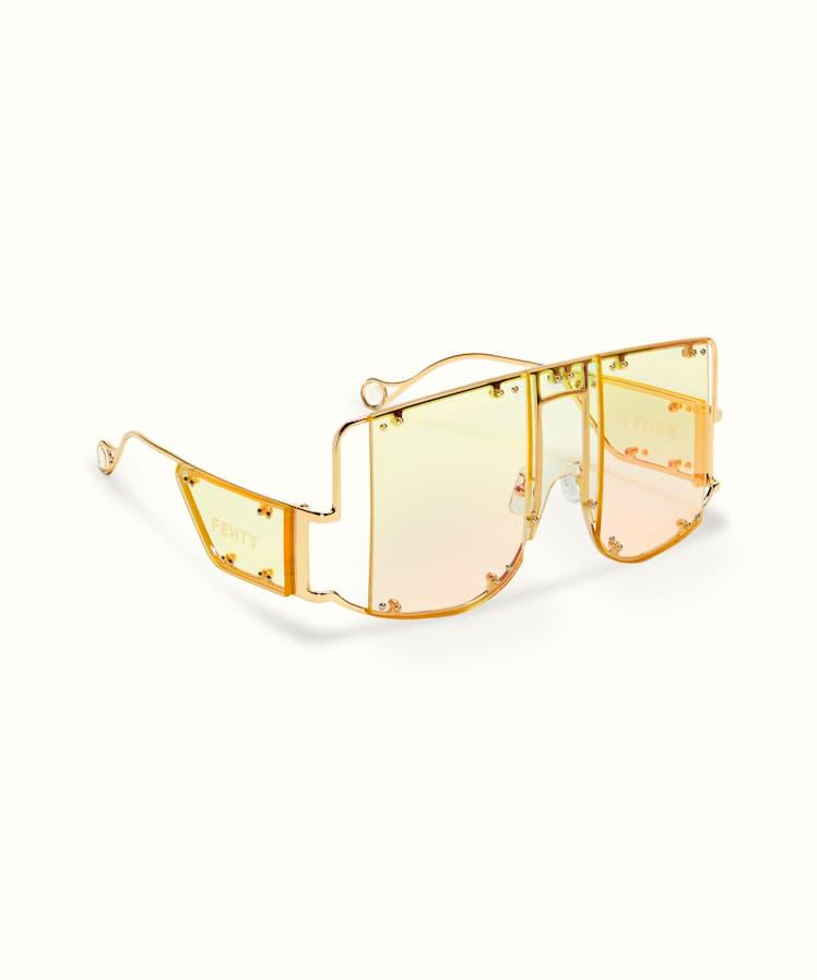 Blockt Mask Chardonnay Fenty In 2020 Funky Glasses Fashion Eye Glasses Glasses Fashion