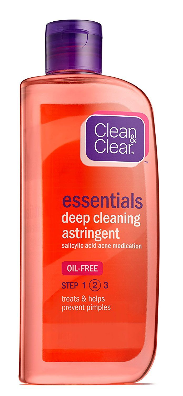 Clean and Clear Deep Cleaning Astringent, 8 Fluid Ounce