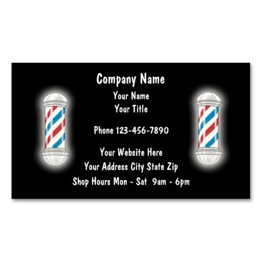 Barber business cards business cards business and card templates barber business cards fbccfo