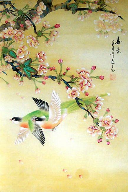 Китайские и японские открытки, днем рождения