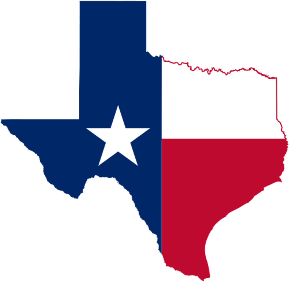 26 Things Every Texan Knows Texas Flags Texas History Texas Map