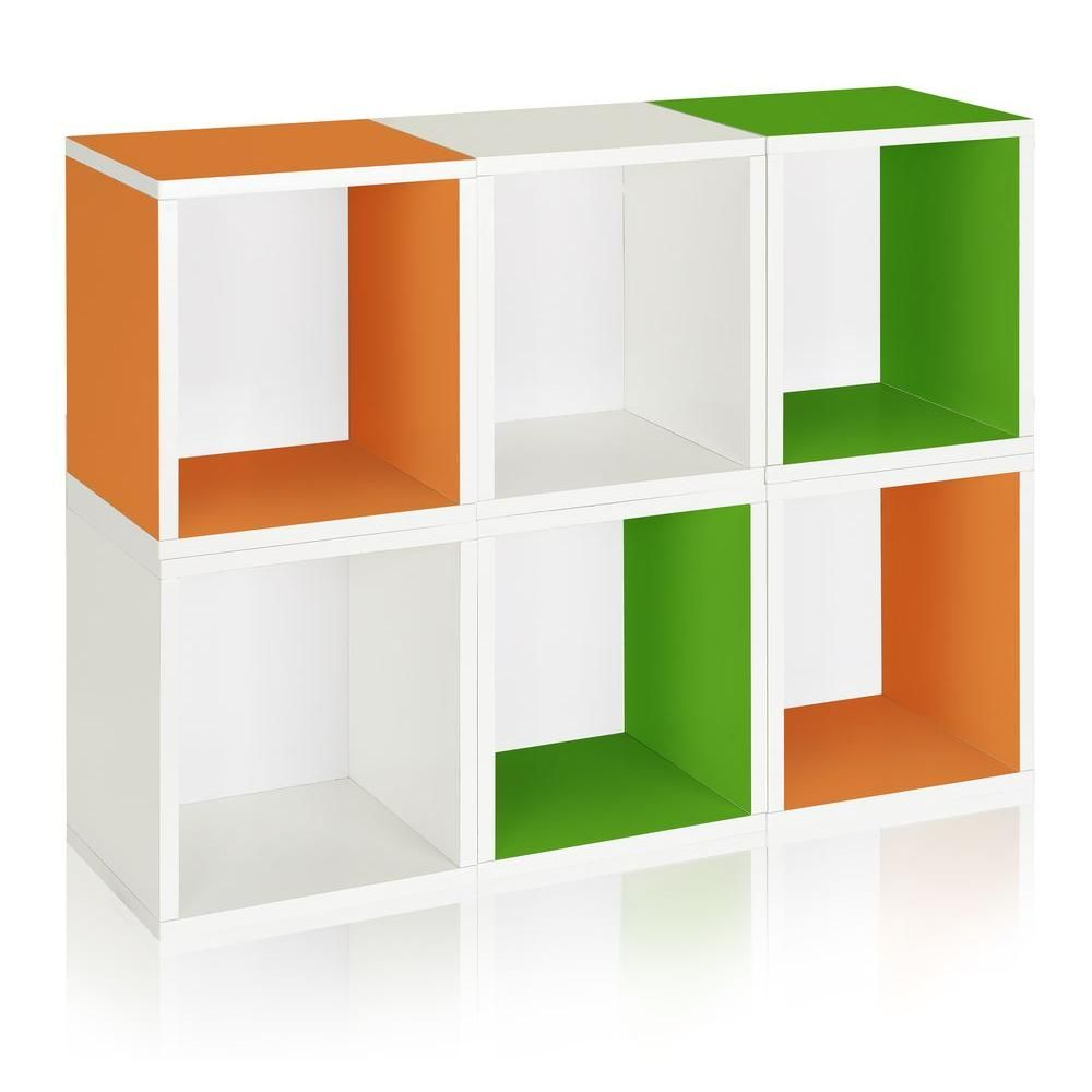 Zboard 6 Cubes Eco Cubby Organizer Tool Free Assembly Modular