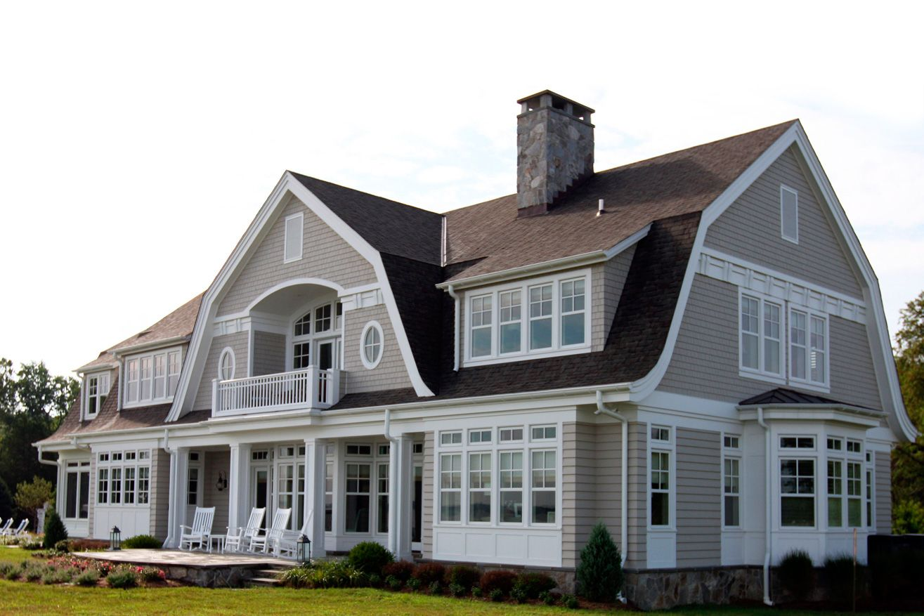 Choptank Waterfron Hammond Wilson Gambrel Style House Styles Shingle Style Homes