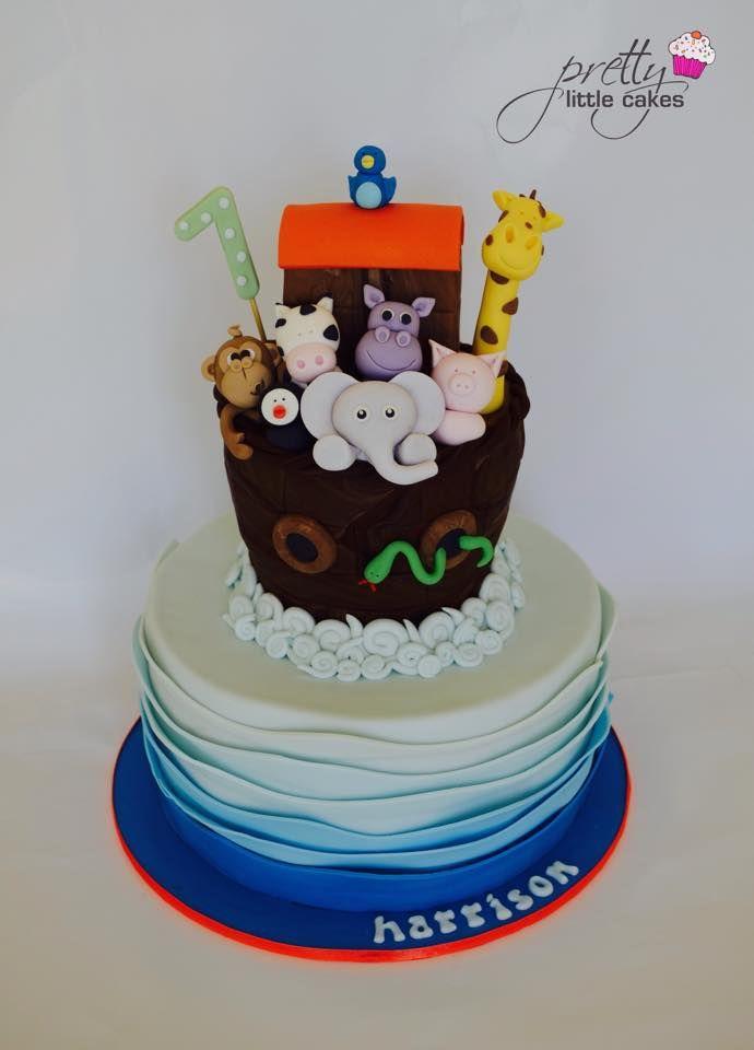 Pretty Little Cakes By Rachel Cakes Noahs Ark Pinterest Cake