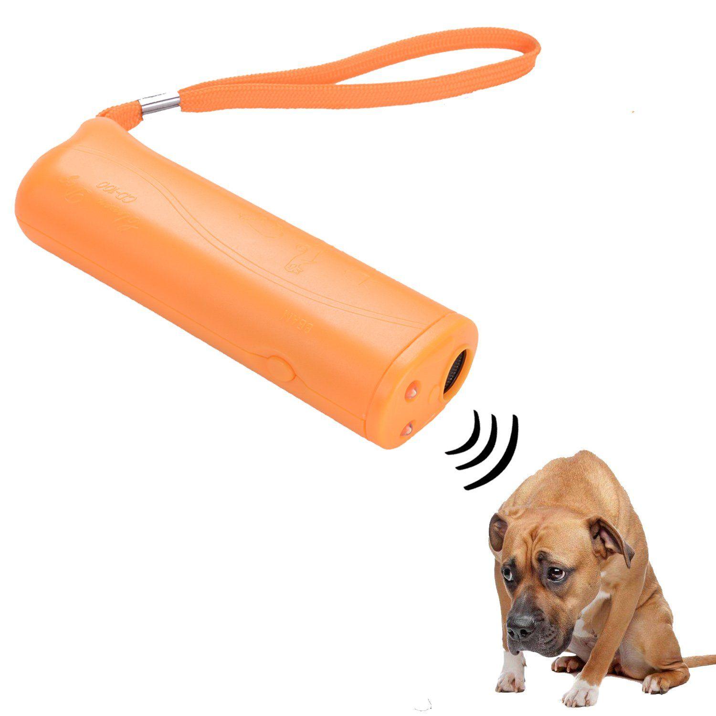 Eborder Ultrasonic Dog Repeller Dog Trainer Device 3 In 1 Anti