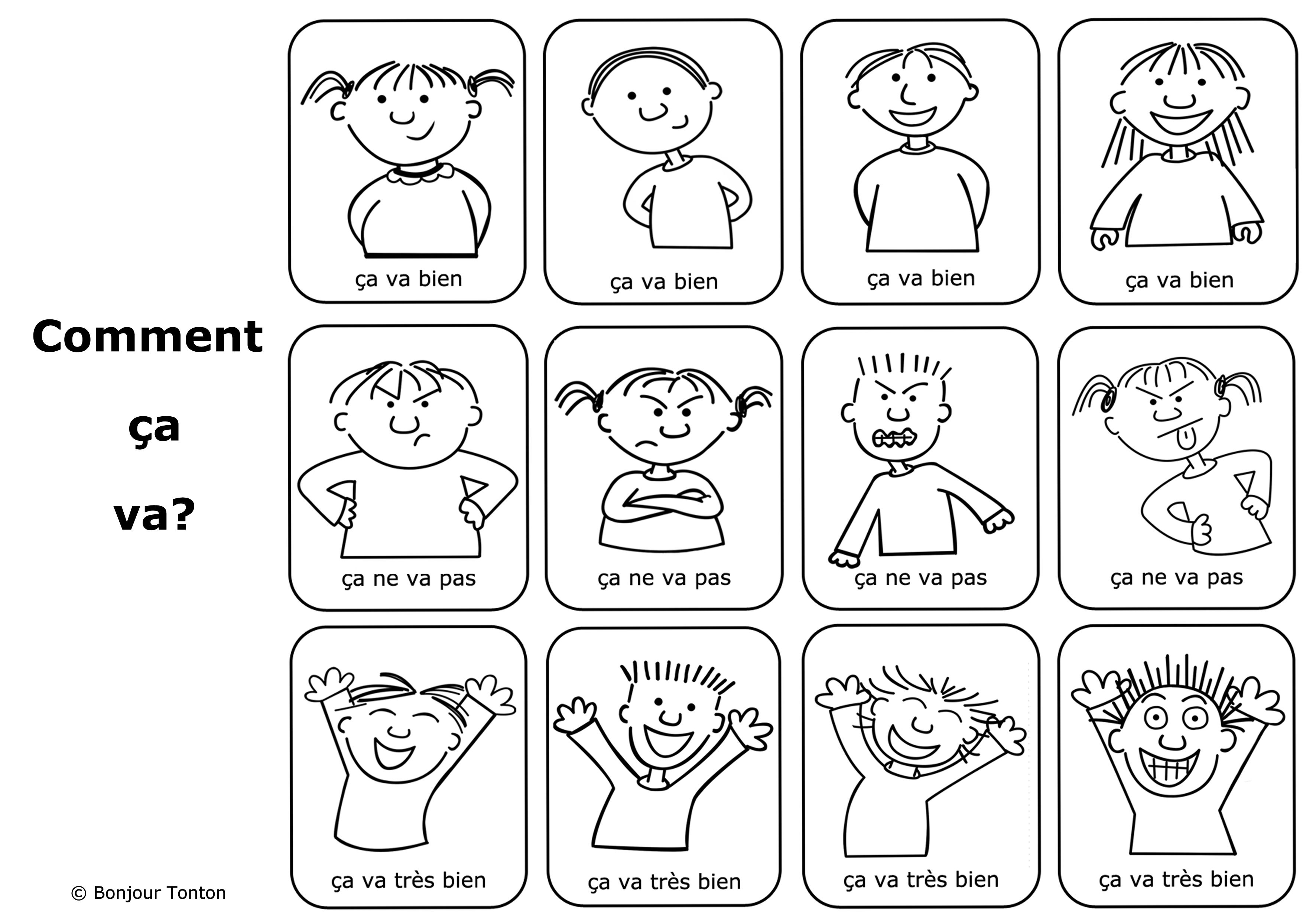 A Free French Lesson Plan Aimed At Teaching Very Young Children How To Say How Are You In The Home Through Fun Free French Lessons French Lessons Fun French [ 2480 x 3543 Pixel ]