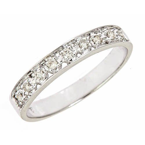 unique design white gold wedding rings with 50ct diamond wedding band in white gold under - Wedding Rings Under 200