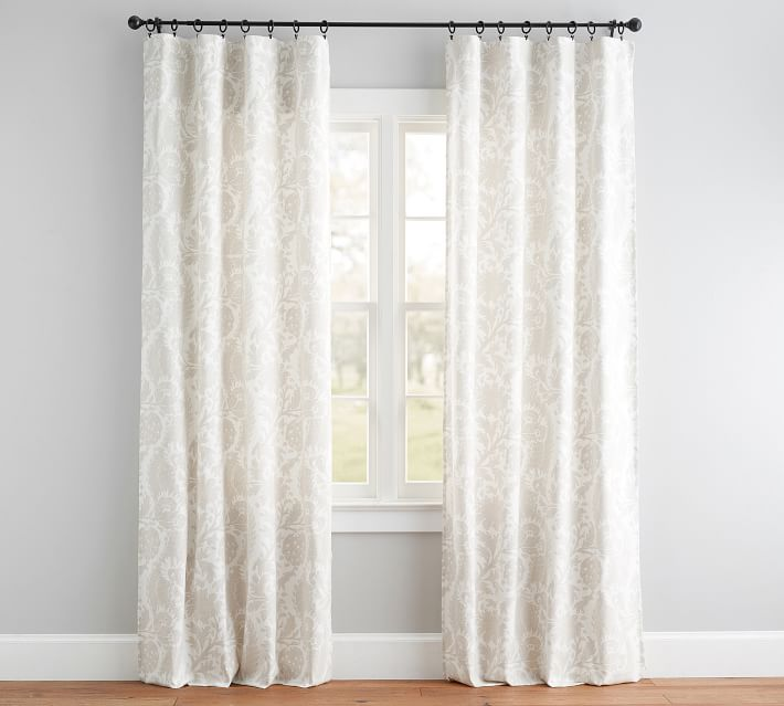 Maris Print Curtain Set Of 2 In 2019 Printed Curtains Curtains Drapes Blinds