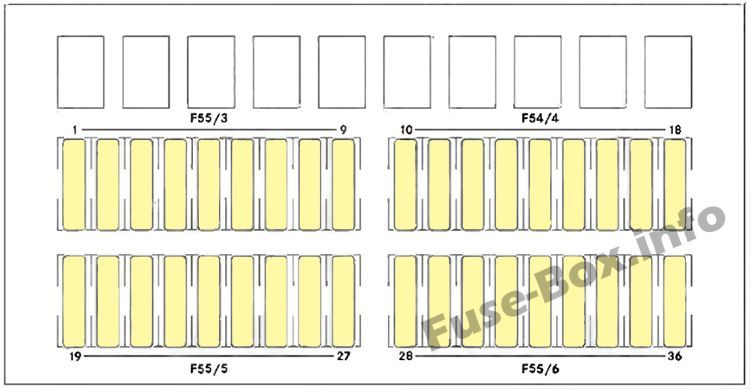Fuse Box Under Driver S Seat Diagram Dodge Sprinter 2007 2008 2009 2010 Fuse Box Fuse Box Cover Sprinter