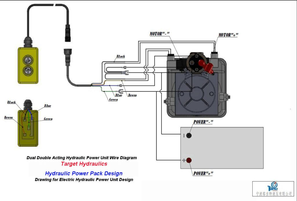 How To Wire Double Acting Circuit For Power Uppower Down Operation Hydraulic  Pump In 12 Volt Wiring Diagram | Dump trailers, Trailer wiring diagram, Hydraulic  pump | Hydraulic Motor Wiring Diagram |  | Pinterest