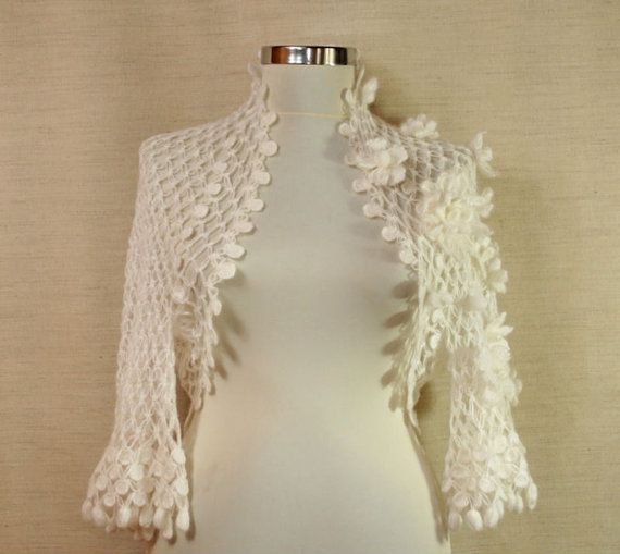 Pastoral Dreams / Wedding Bridal Shrug Bolero Cape by lilithist ...