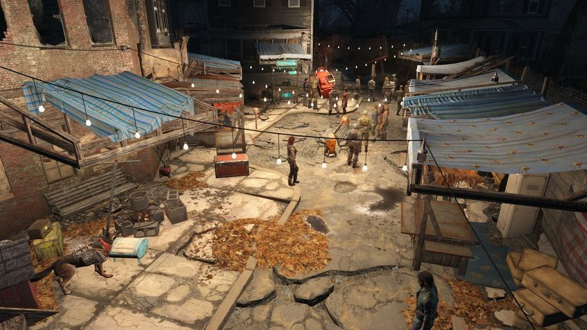 fallout 4 how to make a settlement grow