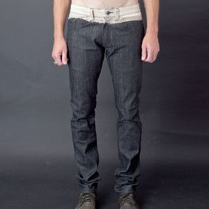 Spit Fit Jeans Raw Indigo now featured on Fab.