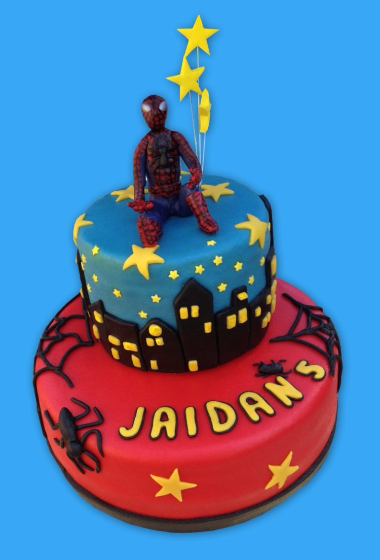Spiderman Cake Spiderman Taart Spiderman Cakes