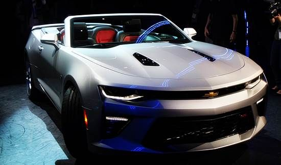 2016 Chevrolet Camaro Convertible Price In Uae