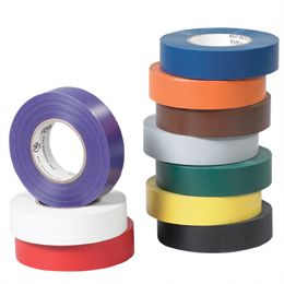 Electrical tape is available in many different colors
