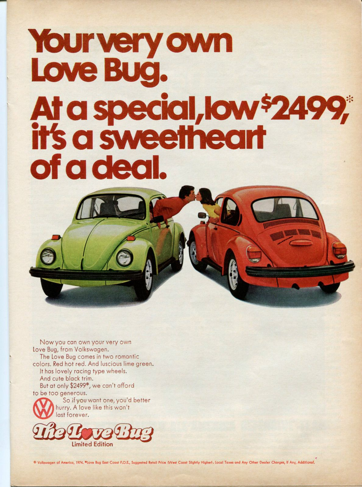 Realvwparts 11 Awesome Vintage Vw Ads
