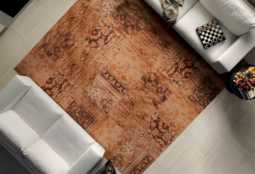 FapNatura (Istanbul) // ceramic tiles inspired by Turkish carpets from Fap Ceramiche