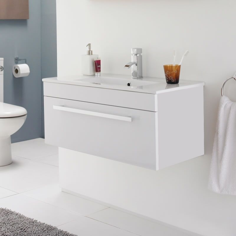 Voucher Code Basin Unit Wall Mounted Basins Google Images Minimalist White Bathroom Furniture