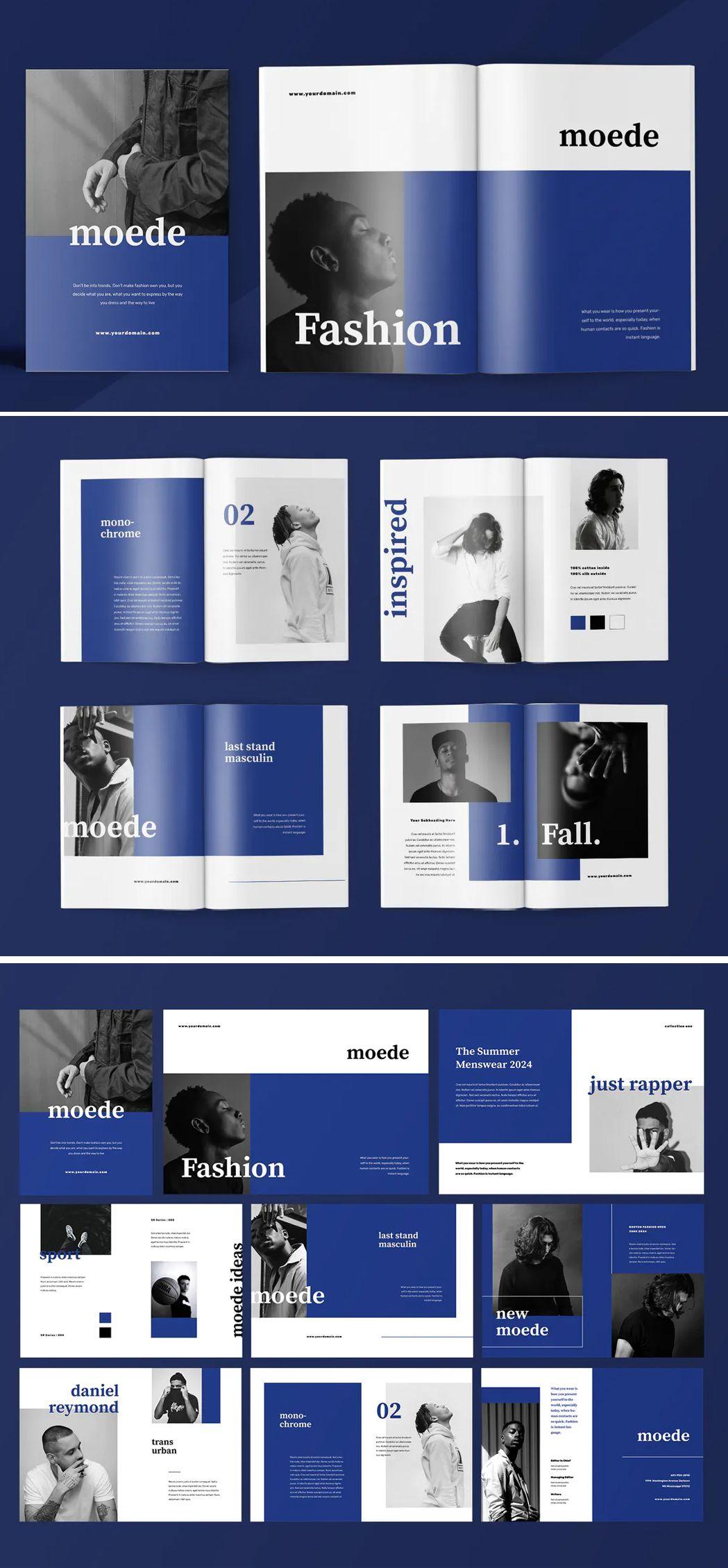 Fashion Lookbook Catalogue Template Ai Eps Indd Pdf 25 Pages In 2020 Catalogue Design Templates Fashion Lookbook Catalog Design
