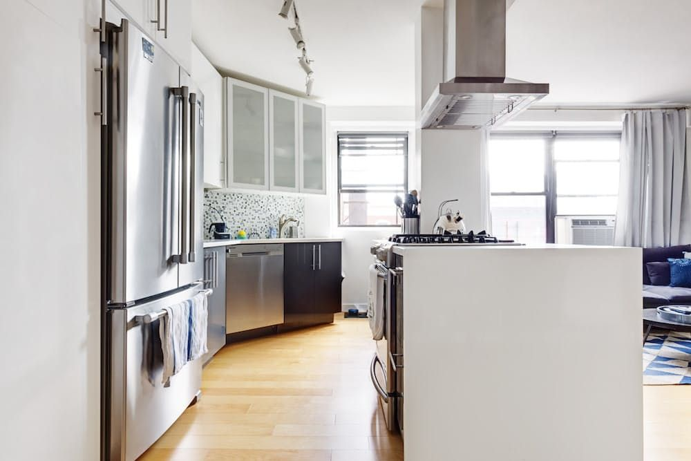Before & After A Tiny Brooklyn Kitchen Opens Up  Kitchens Mesmerizing Brooklyn Kitchen Design Design Ideas